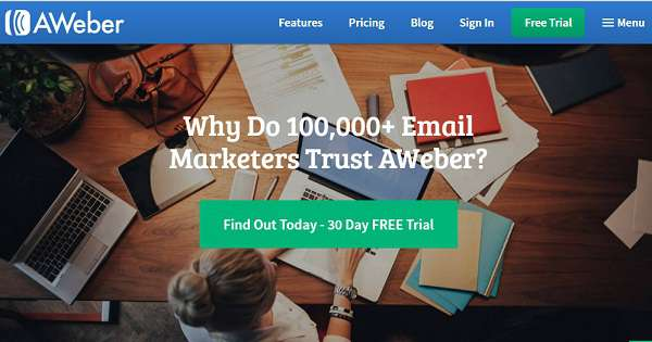 Online Voucher Code 25 Aweber Email Marketing March 2020