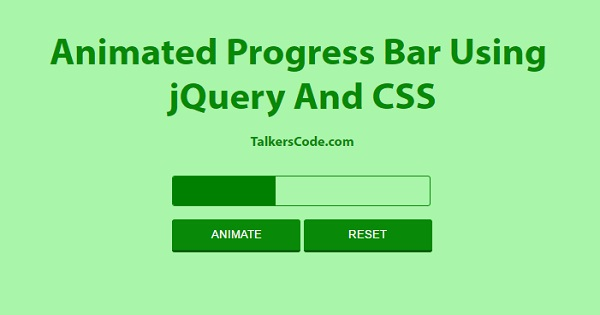 Multistep Form With Progress Bar Using jQuery And CSS
