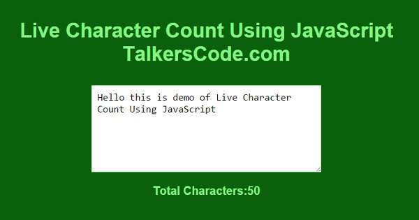 Check And Uncheck Checkboxes Using JavaScript