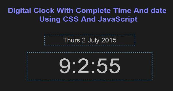 Jquery based analog and digital world clock jclocksgmt. Js | free.