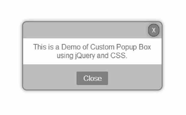 Jquery stylish popup box recommendations dress for spring in 2019